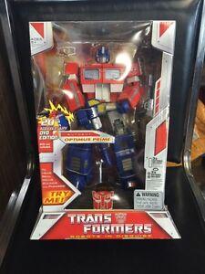 Transformers Masterpiece MP 20th Anniversary DVD Optimus Prime