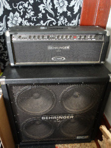 Behringer Head and Cab V-tone