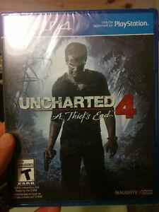 Uncharted 4: A Thief's End (PS4) Edmonton Edmonton Area image 1