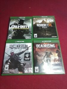 homefront evolution 10$ resident evil 7 60$ deadrising 4 35$
