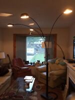 Spider Floor Lamp with builtin dimmer