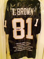3 assorted signed jerseys $250.00 each