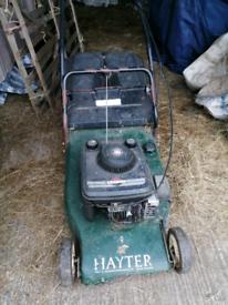 Hayter lawn mower (spares or repair)