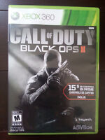 Xbox 360: Call of duty black ops 2 en français (80% nouveau)