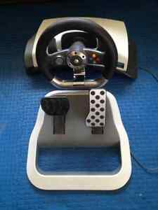 xbox 360 steering wheel