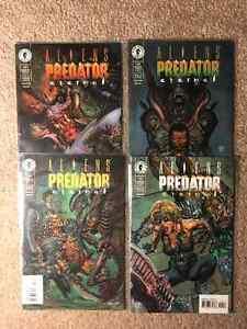 Comics Aliens vs Predator Eternal complete series #1-4