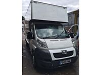 MAN & VAN LARGE LUTON VAN WITH TAILIFT 24/7 HOUSE OFFICE FLAT DELIVERY COLLECTION CLARENCE ALL UK