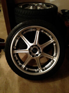 "18"" Core Racing Rims"