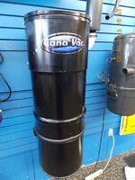 Aspirateur CANA-VAC avec 650 AIr Watts 2 (moteurs)