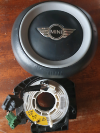 Mini 2004 steering wheel air bag and squib