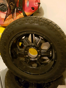Toyo tires bmf rims off superduty