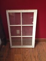 Old wooden windows (6 frames) excellent condition
