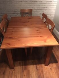 IKEA Stornas antique stain dining table