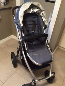 Uppa Baby Vista Stroller Package with a bunch of add-ons