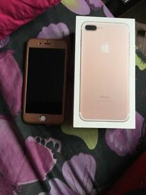 iPhone 7plus rose gold