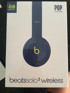 BEATS Solo 3 Wireless Headphones BRAND NEW UNOPENED IN THE BOX