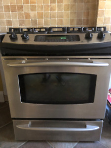 GE Profile Stainless Steel 30-inch Range