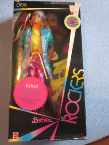 1985 Diva, Barbie and the Rockers