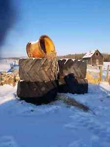Skidder  Tires and rims