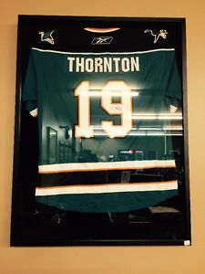Joe Thornton - Autographed Replica Jersey