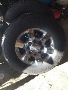 Brand new GMC rims and tires