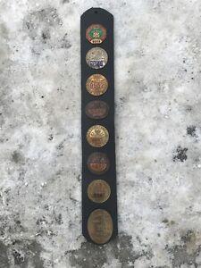 plaque de chauffeur 1922 et plus voir autre photo