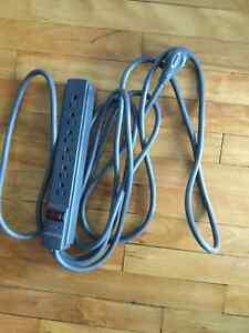 15ft 6 outlet extension cord Kensington, 9ft extension cord