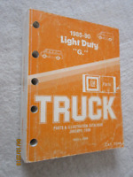 1985 to 1990 GMC Chev Full Size Van Parts & Illustrations cat