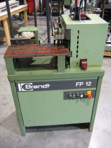 Brandt FP 12 Cutting and Buffing Station