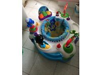 Baby Einstein rhythm of the reef activity saucer / station