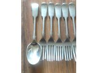 Nevada Siver Forks and Spoons