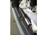 Universal Cherry bomb back box exhaust brand new never fitted