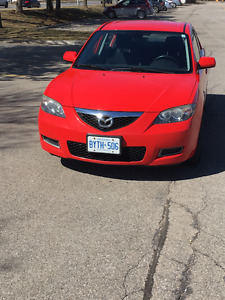 2007 Mazda 3 Manual Great Condition & No Rust