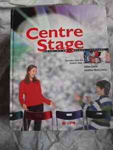 Centre Stage - english as a second language BOOK 1