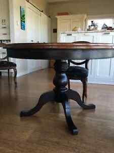 Casual dining table/ with/without chairs