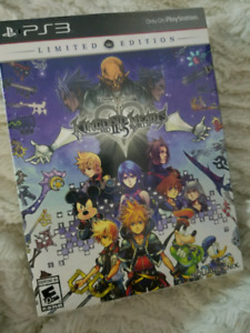 PS3 Kingdom of hearts limited edition 5 remix