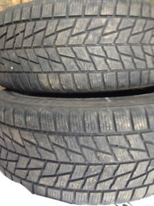 Two P245/45R18 Perrelli Snow Tires