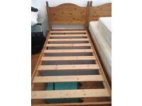 Single pine bedframes