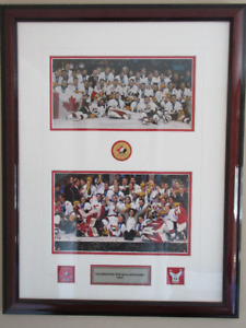 2002 Olympic Canadian Mens and Womens Hockey Gold Medalists