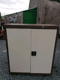 Metal storage cabinet. Delivery available