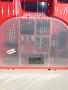 Brand New - Black and Decker Drill Set