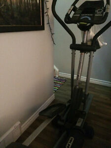 Elliptical 'works' but needs new wheel, or use for medal/parts