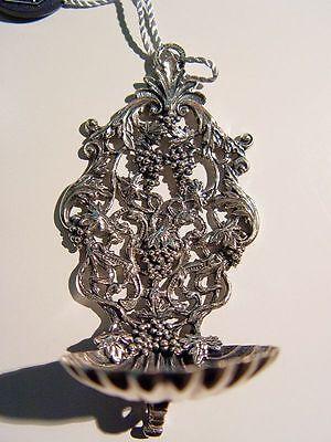 Silberschale Weihwasserschale  800er Silbergefäß Weintrauben Kirchensilber Neu