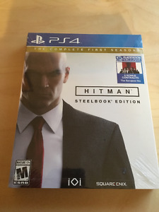 Hitman Steelbook Ed (complete first season) SEALED BRAND NEW