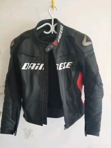 Dainese Racing D1 Leather Motorcycle Jacket