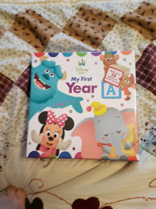 Disney baby's first year book