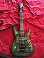 Dbz absinthe electric guitar and amp