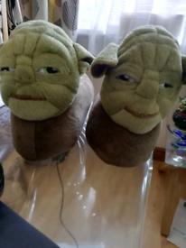 Star Wars Master Yoda Pair of Slippers