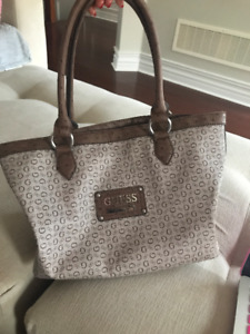 Light Brown Guess Bag + Wallet