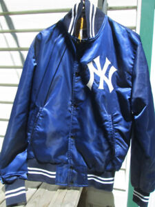 Vintage Men's satin Yankees baseball jacket